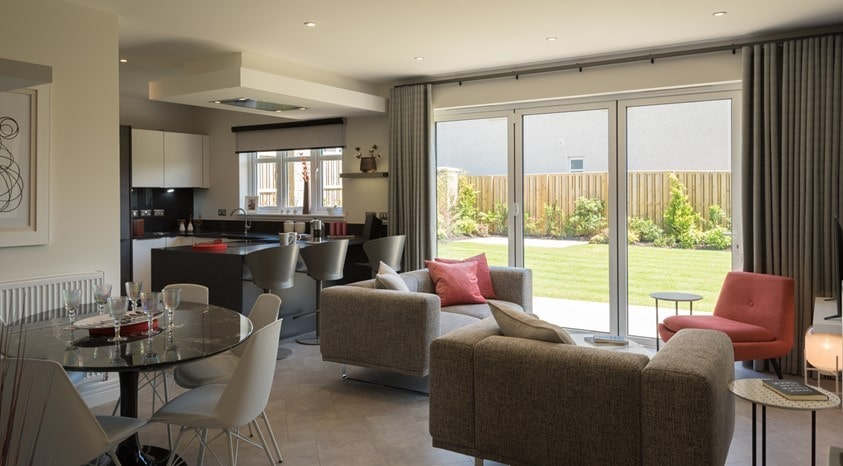 Lounge room bi-folds