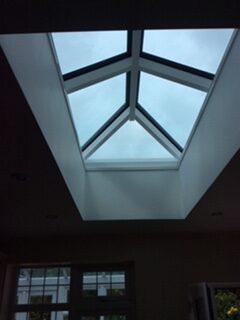 inside view roof lantern