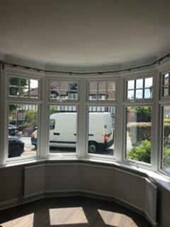 upvc double glazing 5 part bay window
