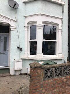 vertical sliding sash windows installed