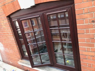 rosewood with astragal bars