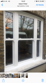 3 part sash window set