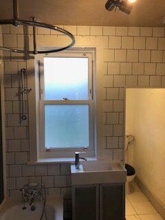 sash bathroom window