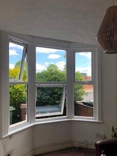 inside sash window bay