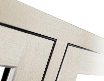 flush sash mechanical joints