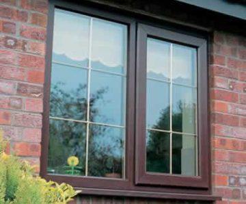 ROSEWOOD CASEMENT WINDOW