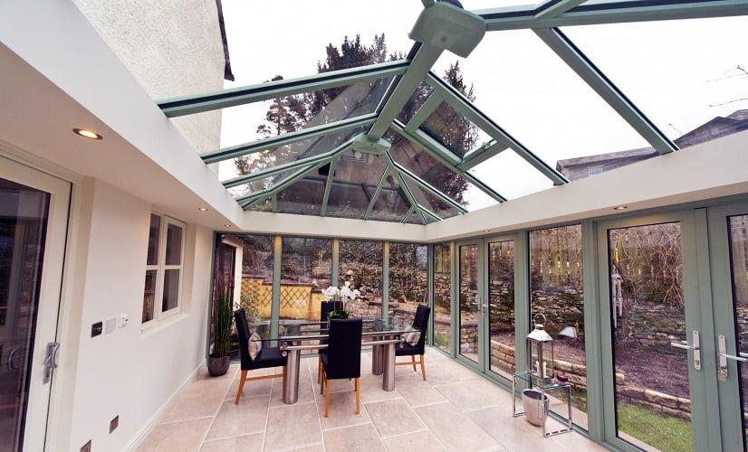 Chartwell Green orangery roof